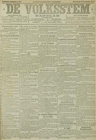 De Volksstem 1914-12-30