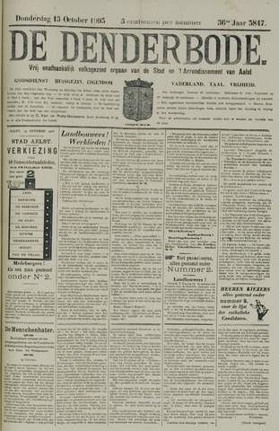 De Denderbode 1903-10-15