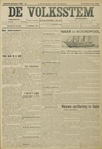 De Volksstem 1910-06-09