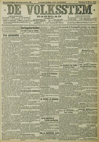 De Volksstem 1915-03-16