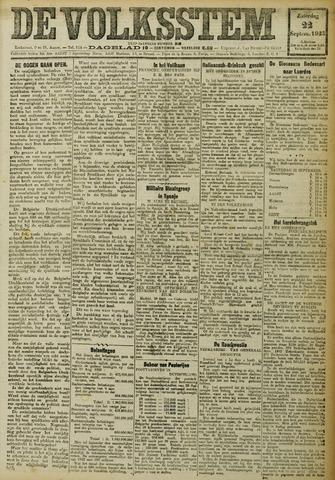 De Volksstem 1923-09-22