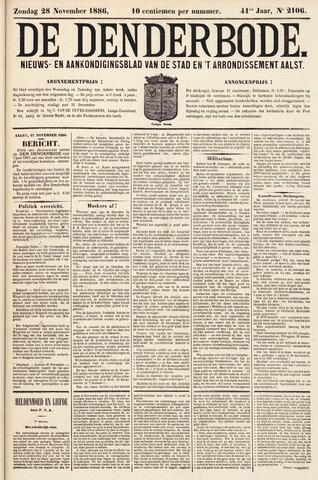 De Denderbode 1886-11-28