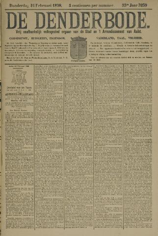 De Denderbode 1898-02-24