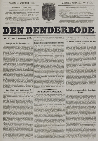 De Denderbode 1853-11-06