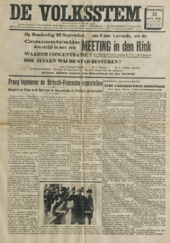 De Volksstem 1938-09-22