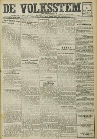 De Volksstem 1931-02-05