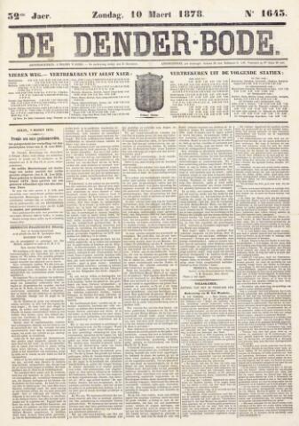 De Denderbode 1878-03-10