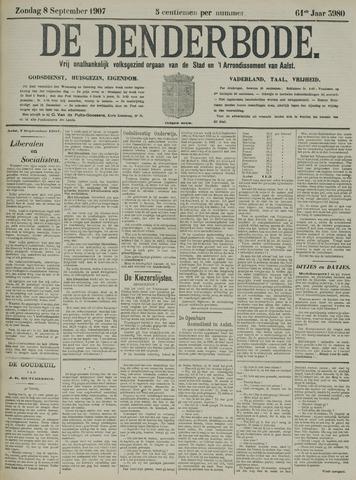 De Denderbode 1907-09-08