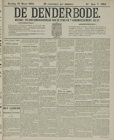 De Denderbode 1894-03-18
