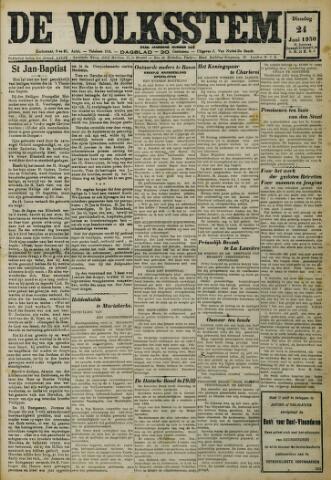 De Volksstem 1930-06-24