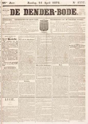 De Denderbode 1872-04-21