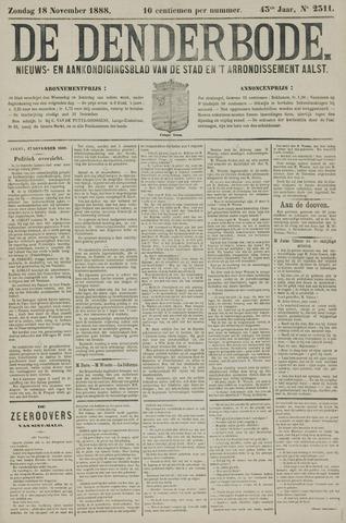 De Denderbode 1888-11-18
