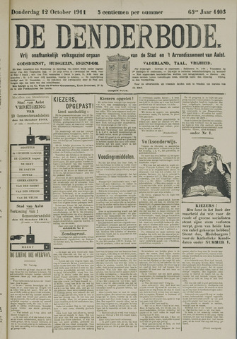 De Denderbode 1911-10-12