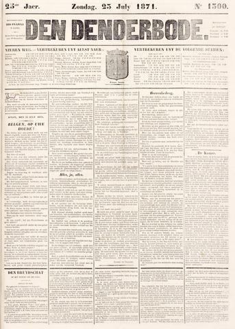 De Denderbode 1871-07-23