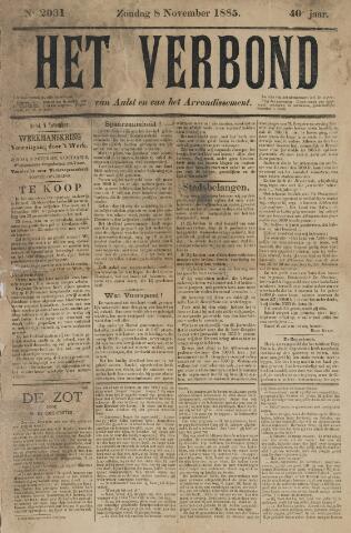 Het Verbond van Aelst 1885