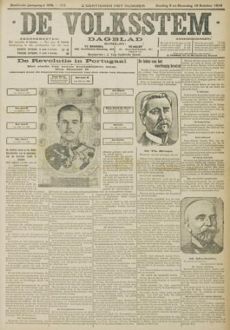 De Volksstem 1910-10-09