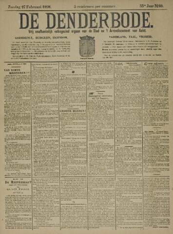 De Denderbode 1898-02-27
