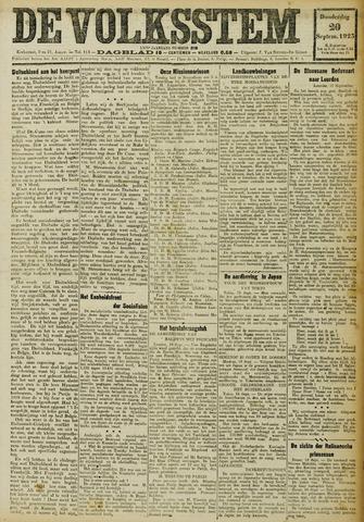 De Volksstem 1923-09-20