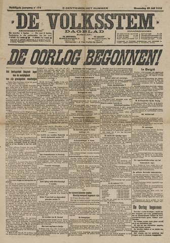 De Volksstem 1914-07-29