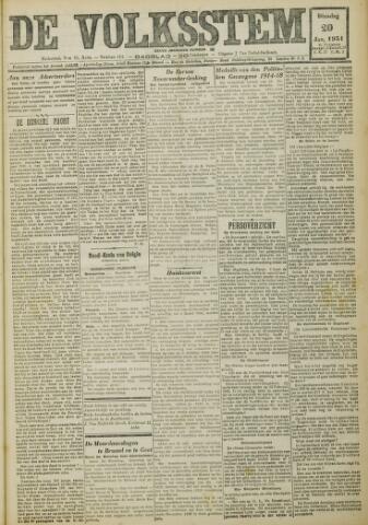 De Volksstem 1931-01-20