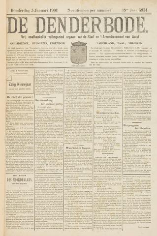 De Denderbode 1901