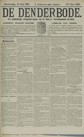 De Denderbode 1907-07-11