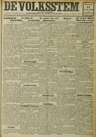 De Volksstem 1923-11-14