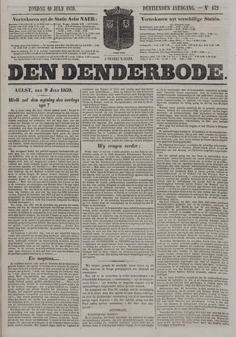 De Denderbode 1859-07-10
