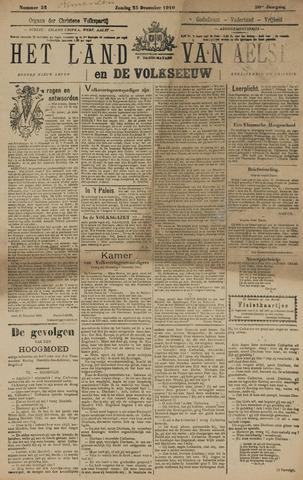 Het Land van Aelst 1910-12-25