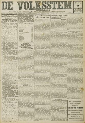 De Volksstem 1930-08-26