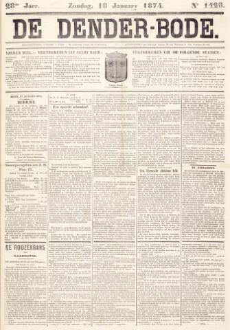 De Denderbode 1874-01-18