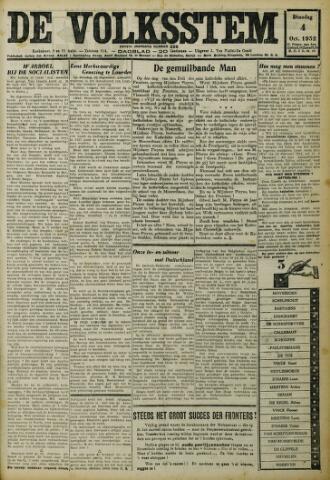 De Volksstem 1932-10-04