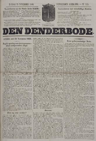 De Denderbode 1860-11-25