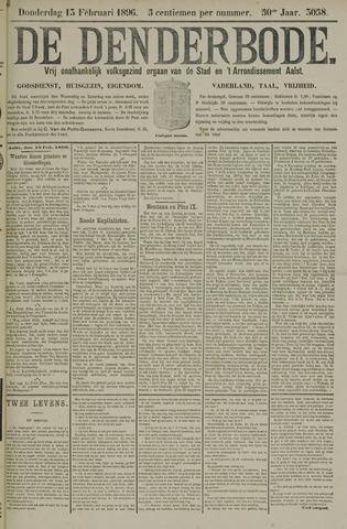 De Denderbode 1896-02-13