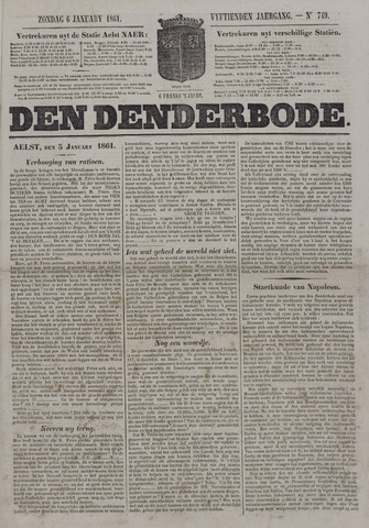 De Denderbode 1861