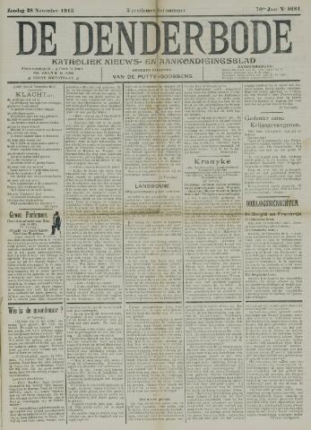 De Denderbode 1915-11-28
