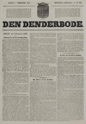 De Denderbode 1853-02-06