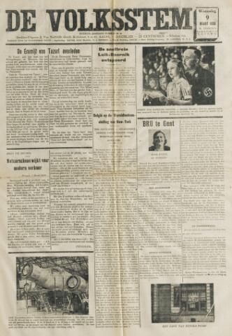 De Volksstem 1938-03-09