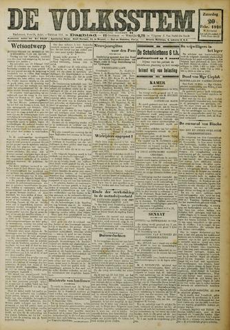 De Volksstem 1926-02-20
