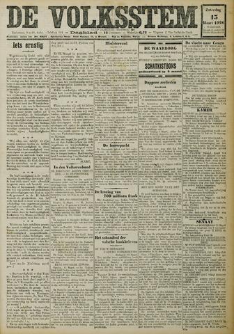 De Volksstem 1926-03-13