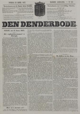 De Denderbode 1857-04-12