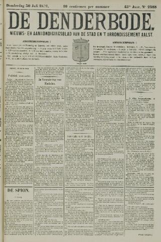 De Denderbode 1891-07-30