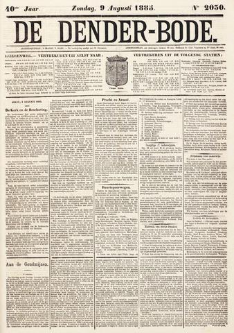De Denderbode 1885-08-09