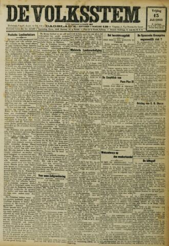 De Volksstem 1923-07-13