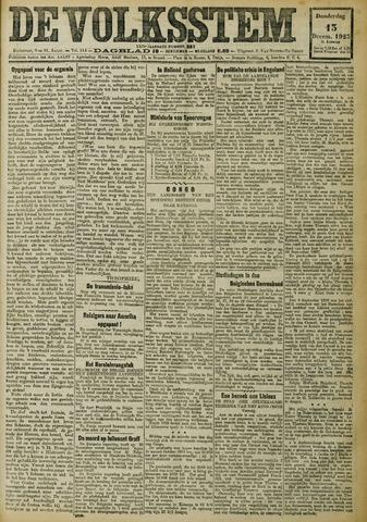 De Volksstem 1923-12-13