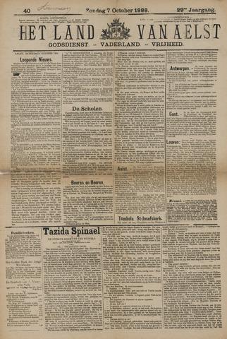 Het Land van Aelst 1888-10-07