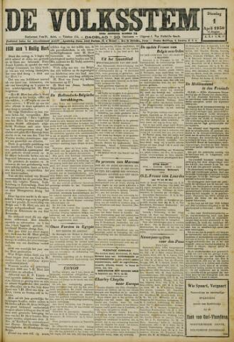 De Volksstem 1930-04-01