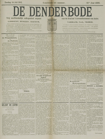 De Denderbode 1912-07-14