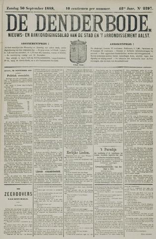 De Denderbode 1888-09-30