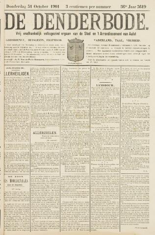 De Denderbode 1901-10-31
